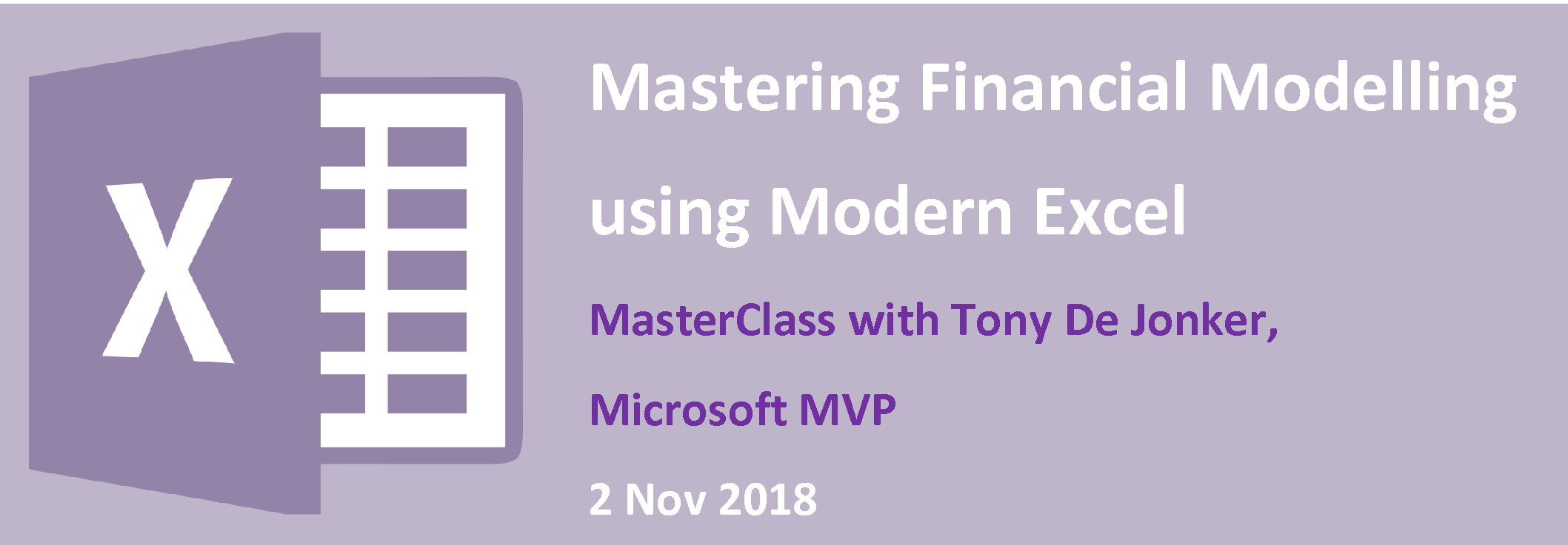 Financial Modelling using Excel