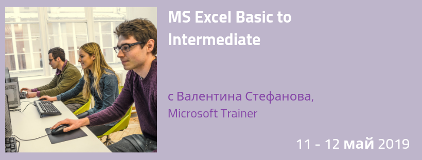 MS Excel Basic to Intermediate
