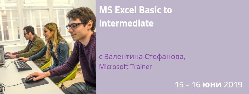 MS Excel MasterClass