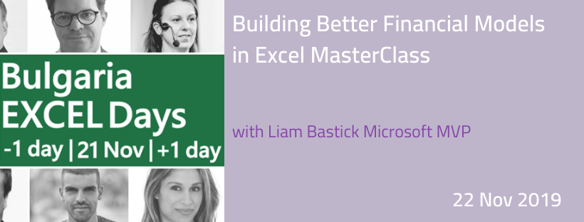 Building Better Financial Models in Excel MasterClass